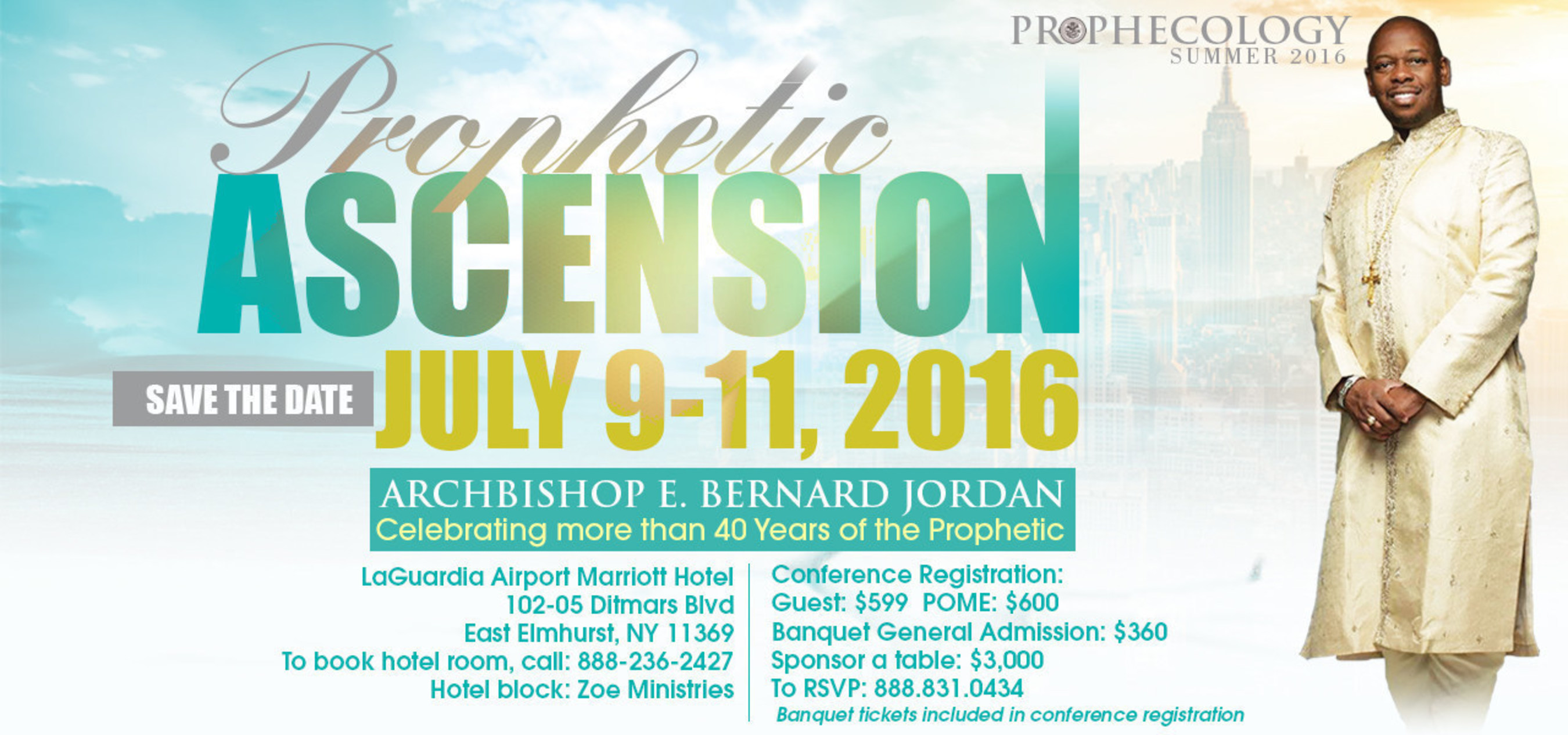 Prophecology Ascension 2016