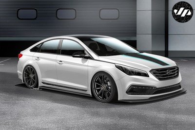 JOHN PANGILINAN'S 2015 SONATA BLENDS STREET ART WITH HIGH PERFORMANCE FOR SEMA