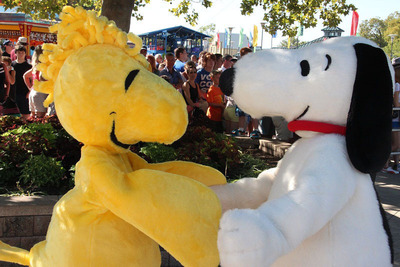 Snoopy and his pal Woodstock are back together again at Cedar Point! (PRNewsFoto/Cedar Point)