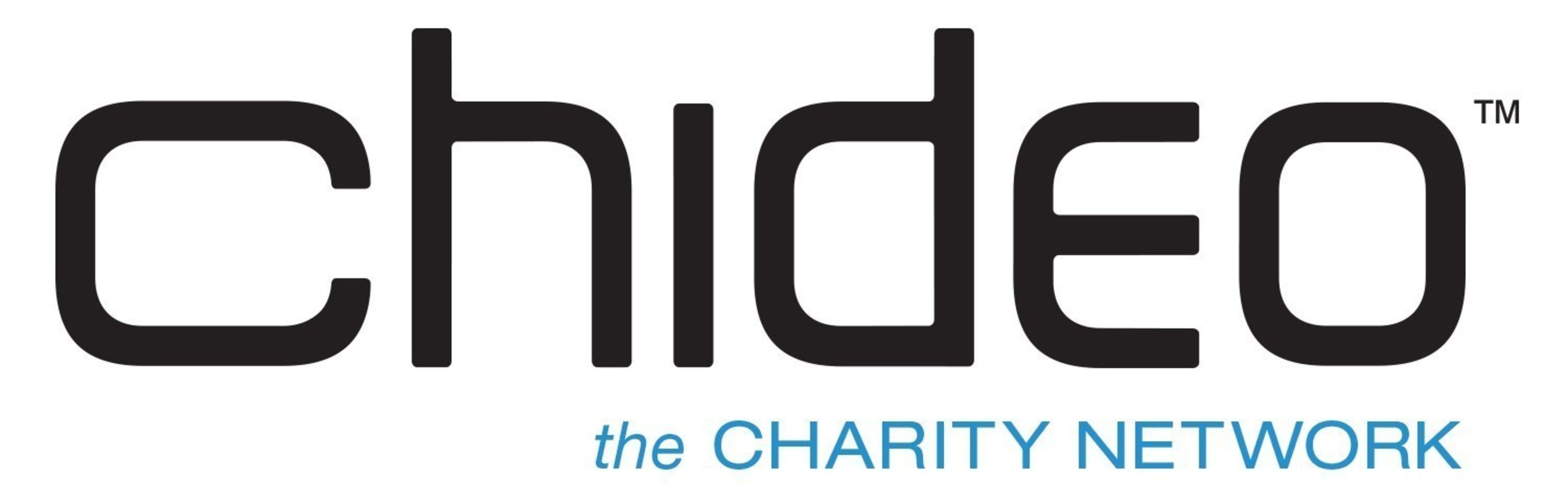 Chideo, the Charity Network, where fans can connect with their favorite celebrities in the spirit of driving awareness and raising money. Go to Chideo.com for more information