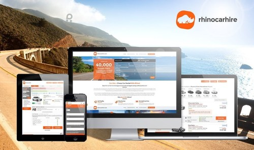Rhinocarhire.com Rebrands its Car Hire Website and Partners with Rentalcars Connect to Deliver a Better Customer Experience (PRNewsFoto/Rhinocarhire.com)