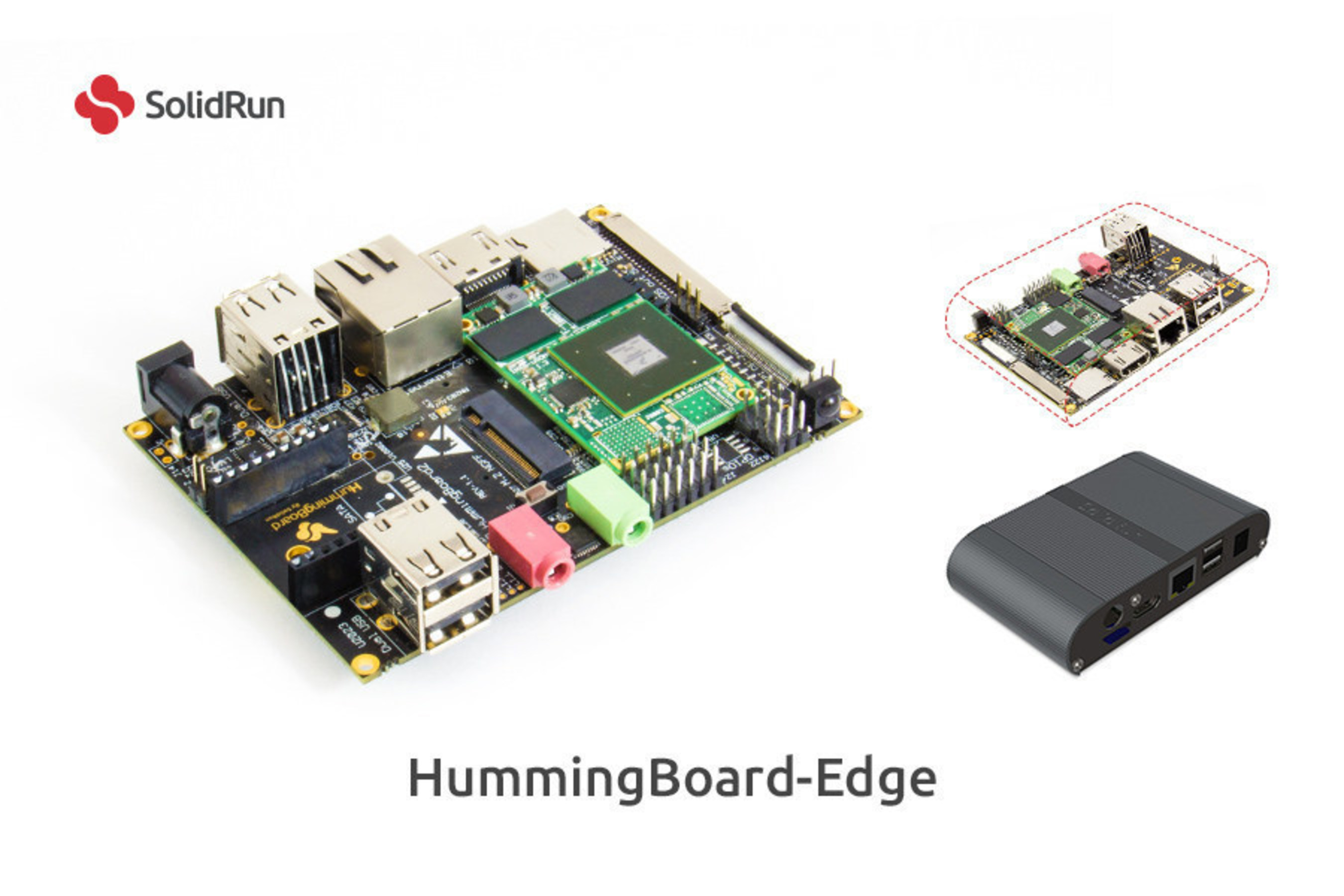 SolidRun Ltd. announces its HummingBoard-Edge computer with industry's highest feature density for IoT Smart Edge Applications.