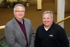 Peter Belyea, president of CXtec, and Frank Kobuszewski, vice president of the technology solutions group at CXtec, at the company's world headquarters in Syracuse, New York