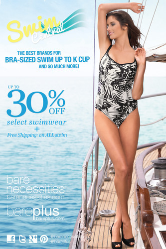 Bare Necessities Features the Best Brands for Bra-Sized Swim Up to K Cup & So Much More!  (PRNewsFoto/Bare Necessities)