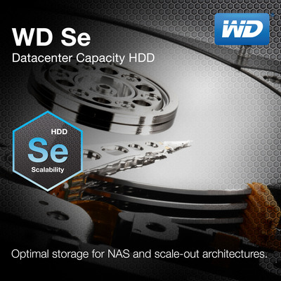 WD Se Datacenter Capacity HDD.  (PRNewsFoto/WD)