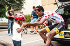The first African to wear TdF King of the Mountain-Eritrea's Daniel Teklehaimanot-inspires a continent and generations to come.