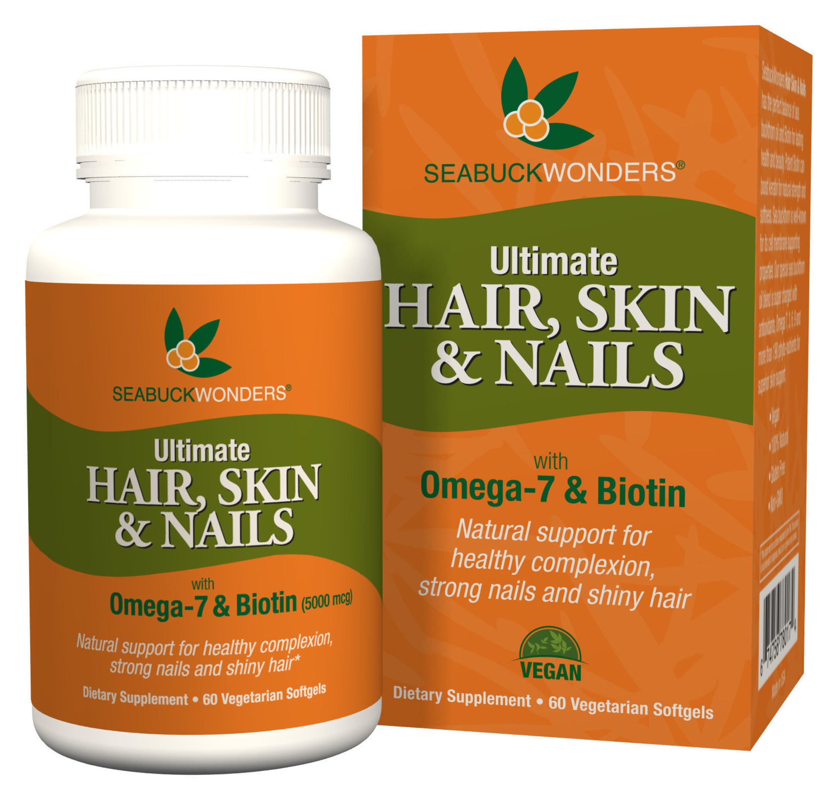 SeabuckWonders Ultimate Hair, Skin & Nails