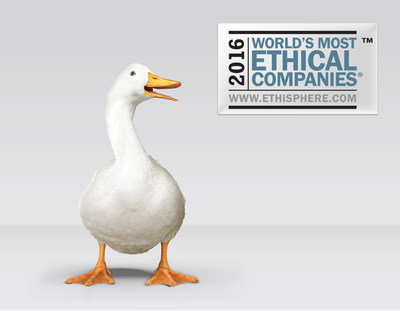 Aflac has been named a World's Most Ethical Company by the Ethisphere Institute for a 10th consecutive year.