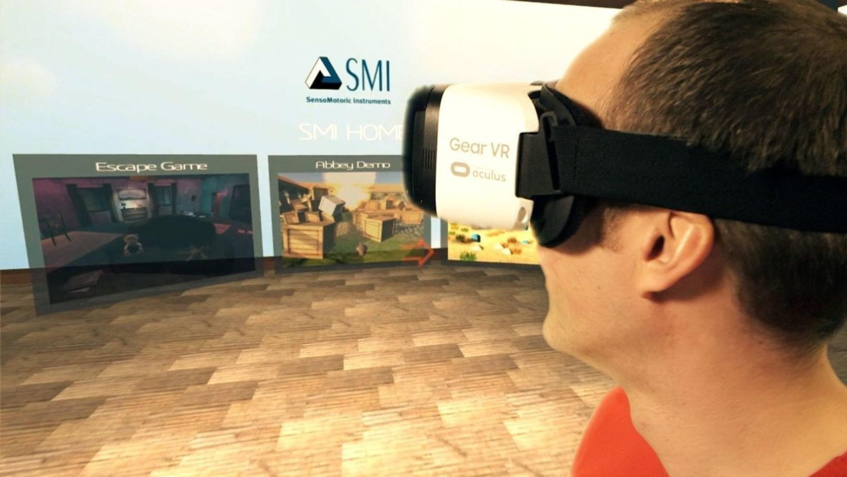 SMI brings eye tracking to mobile virtual reality (PRNewsFoto/SensoMotoric Instruments GmbH) (PRNewsFoto/SensoMotoric Instruments GmbH)