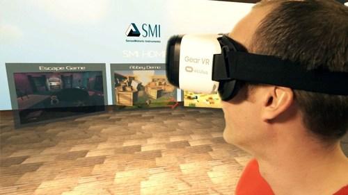 SMI brings eye tracking to mobile virtual reality (PRNewsFoto/SensoMotoric Instruments GmbH) ...