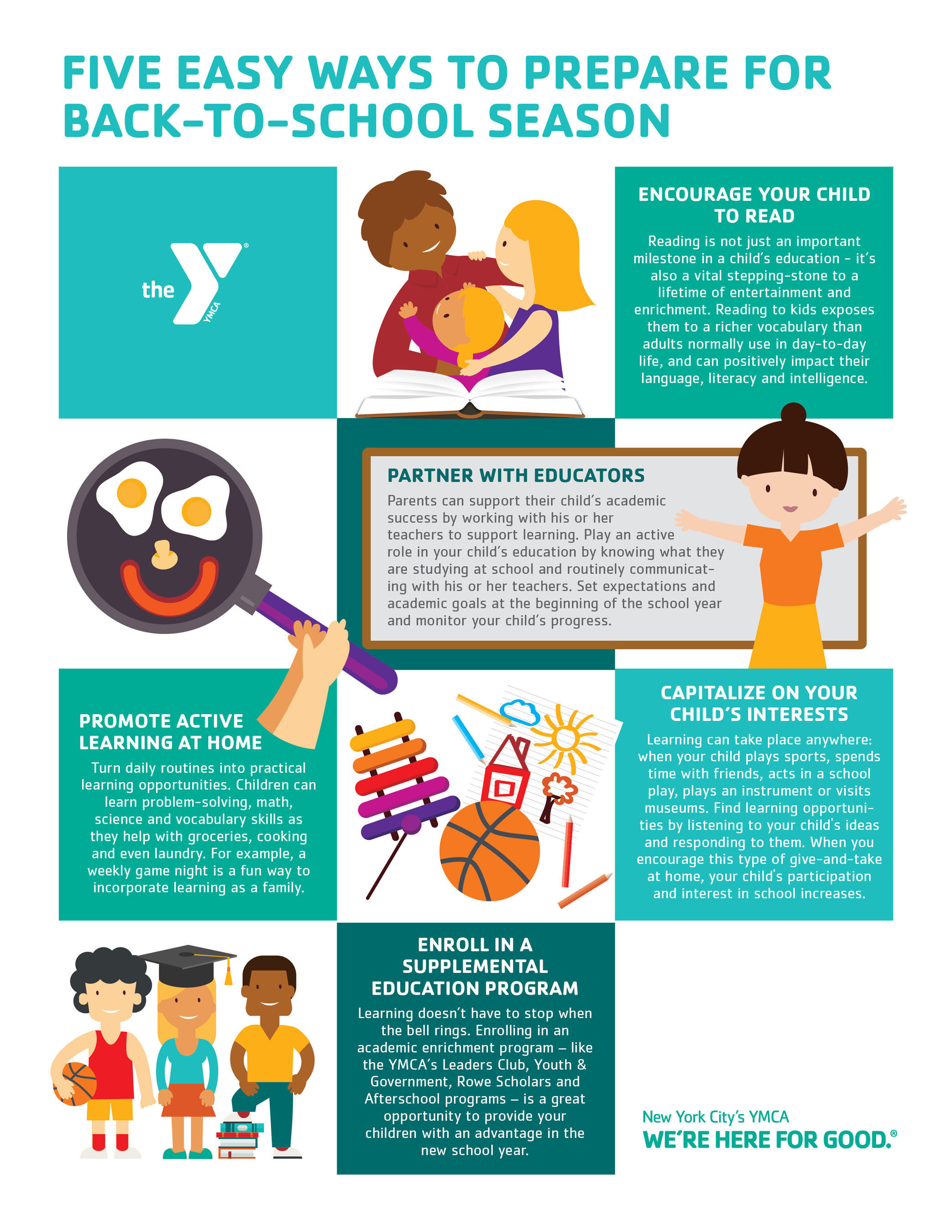 Five Easy Ways To Prepare For Back-To-School Season