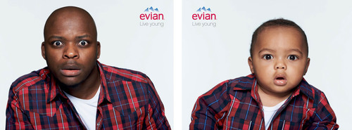 evian® Debuts New Video: Baby & Me