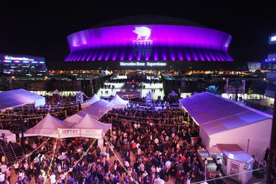 Emeril Lagasse Foundation's annual Boudin, Bourbon & Beer in Champions Square.