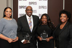 Black Public Relations Society of Los Angeles (BPRS-LA) hosted the 2nd Annual Pat Tobin PR Excellence Awards on March 12, 2015 at CBS Studios Center in Studio City, Calif. (l to r) Honorees Roslyn Bibby-Madison, vice president of media relations for FX Networks; Kenneth R. Reynolds, president/CEO of boutique agency Public Relations+; and Rita Cooper Lee, senior vice president of communications for WGN America and Tribune Studios, with BPRS-LA president Shawn Turner.