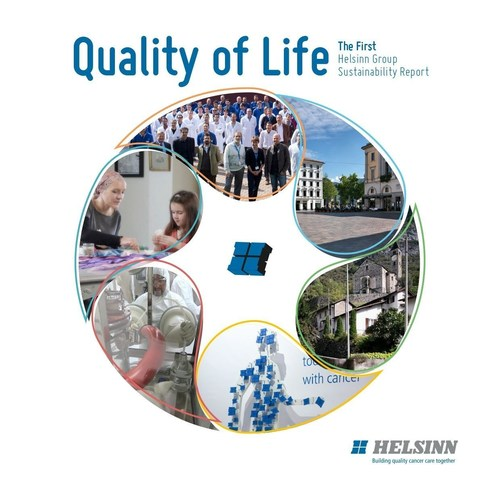 Helsinn presents Quality of Life, its first group sustainability report (PRNewsFoto/Helsinn)