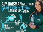 Poland Spring 100% Natural Spring Water, Aly Raisman's training water of choice.  (PRNewsFoto/Nestle Waters North America)