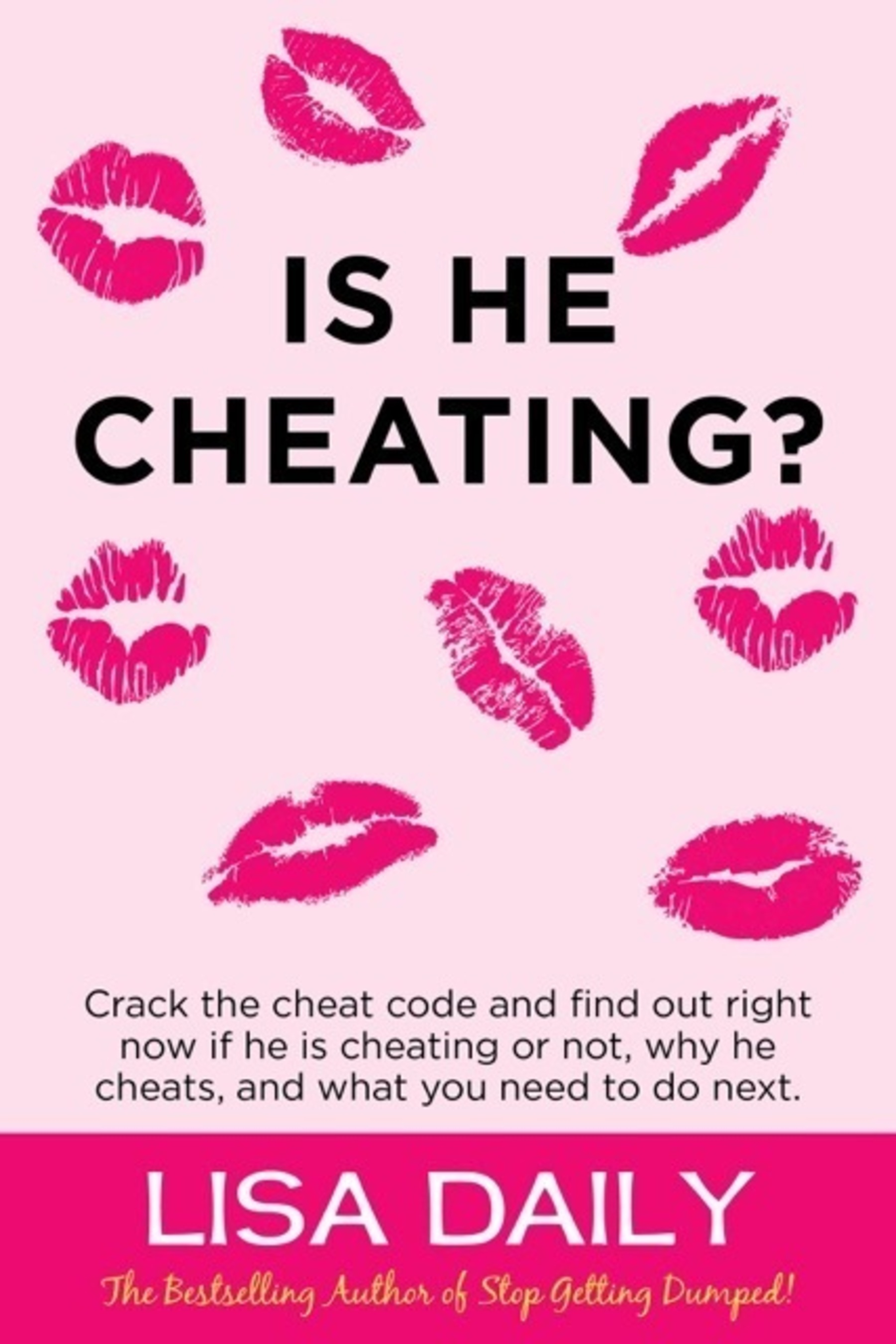 """New Relationship Book: """"Is He Cheating?""""  (PRNewsFoto/Lisa Daily)"""
