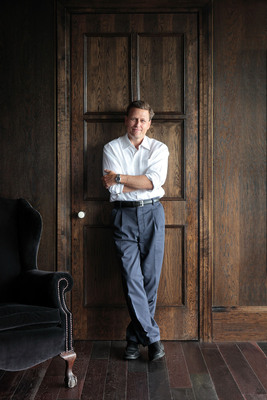 "Scholastic to Publish ""The Finisher,"" a new fantasy novel for children by international bestselling author David Baldacci. The book for ages 9-13 will be released on March 4, 2014.  (PRNewsFoto/Scholastic Inc.)"