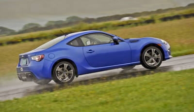 2014 Subaru BRZ Earns an IIHS 2014 Top Safety Pick. Subaru has more 2014 IIHS Top Safety Picks than any other brand. (PRNewsFoto/Subaru of America, Inc.)