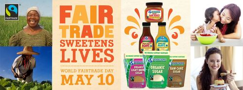 Wholesome Sweeteners Celebrates World Fair Trade Day - May 10