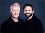 Chris Dove and John Simpson join Athena Cosmetics as brand spokespersons