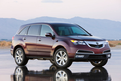 """Acura MDX Wins """"Best Cars For The Money"""" Award From U.S. News & World Report.  (PRNewsFoto/Acura)"""