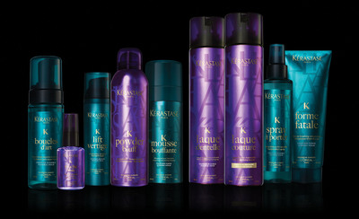 Kerastase Couture Styling Collection. (PRNewsFoto/Kerastase Paris) (PRNewsFoto/KERASTASE PARIS)