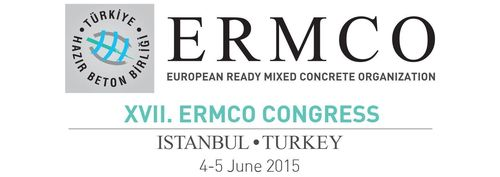"Turkish Ready-Mixed Concrete Association will host the 17th ERMCO Congress in Istanbul on June 4th âeuro"" 5th 2015. (PRNewsFoto/TRMCA)"