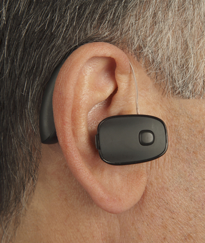 Sound World Solutions' new CS50 Bluetooth Series personal sound amplifier lets you get back in the conversation by providing increased volume and clarity in difficult listening environments like noisy restaurants. It also functions as a Bluetooth headset for mobile phone calls and streams audio content like music and audio books. The included rechargeable batteries last up to 15 hours per charge. Complete kits are available at  www.soundworldsolutions.com for under $400 and are backed by a risk free 30-day money back guarantee and a 1-year warranty. (PRNewsFoto/Sound World Solutions ) (PRNewsFoto/Sound World Solutions)