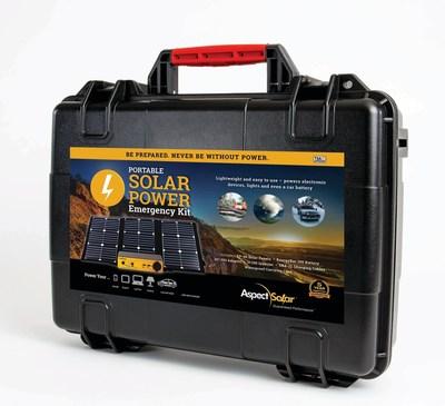 AspectSolar Portable Solar Power Emergency Kit