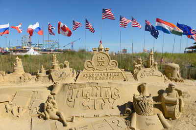 DO AC Sand Sculpting World Cup free and open to the public through July 6 (PRNewsFoto/Atlantic City Alliance)