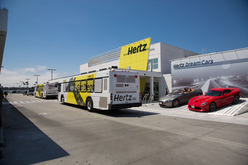 Hertz, utilizing ARINC's microFIDS digital signage solution, provides up-to-the minute access to flight ...