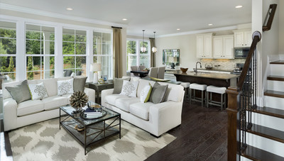 Standard Pacific Homes introduces new collection of luxury townhome designs at Collins Grove in Cary, NC. The new community features all new architectural concepts. For more details, visit www.standardpacifichomes.com. (PRNewsFoto/Standard Pacific Homes)
