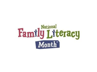 Family Literacy month logo