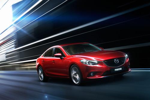 All-New 2014 Mazda6 to Headline Mazda's LA Auto Show Debuts.  (PRNewsFoto/Mazda North American Operations)