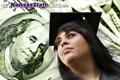 Kansas State Cars provides realistic financial options for students and recent college graduates. (PRNewsFoto/Kansas State Cars)