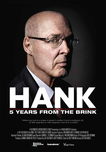 "Film poster for ""HANK: Five Years From the Brink"".  (PRNewsFoto/Netflix, Inc.)"