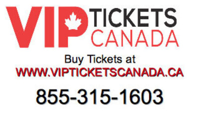 Call Vip tickets Canada at 855-315-1603.  (PRNewsFoto/Vip Tickets Canada)