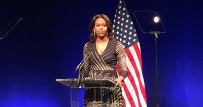 First Lady Michelle Obama speaks about how we must flip the script in how we support and care for people with mental health and substance use needs.