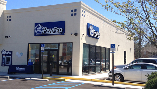 The PenFed branch is located at 1073 John Sims E. Parkway in Niceville, Fla.  (PRNewsFoto/PenFed)