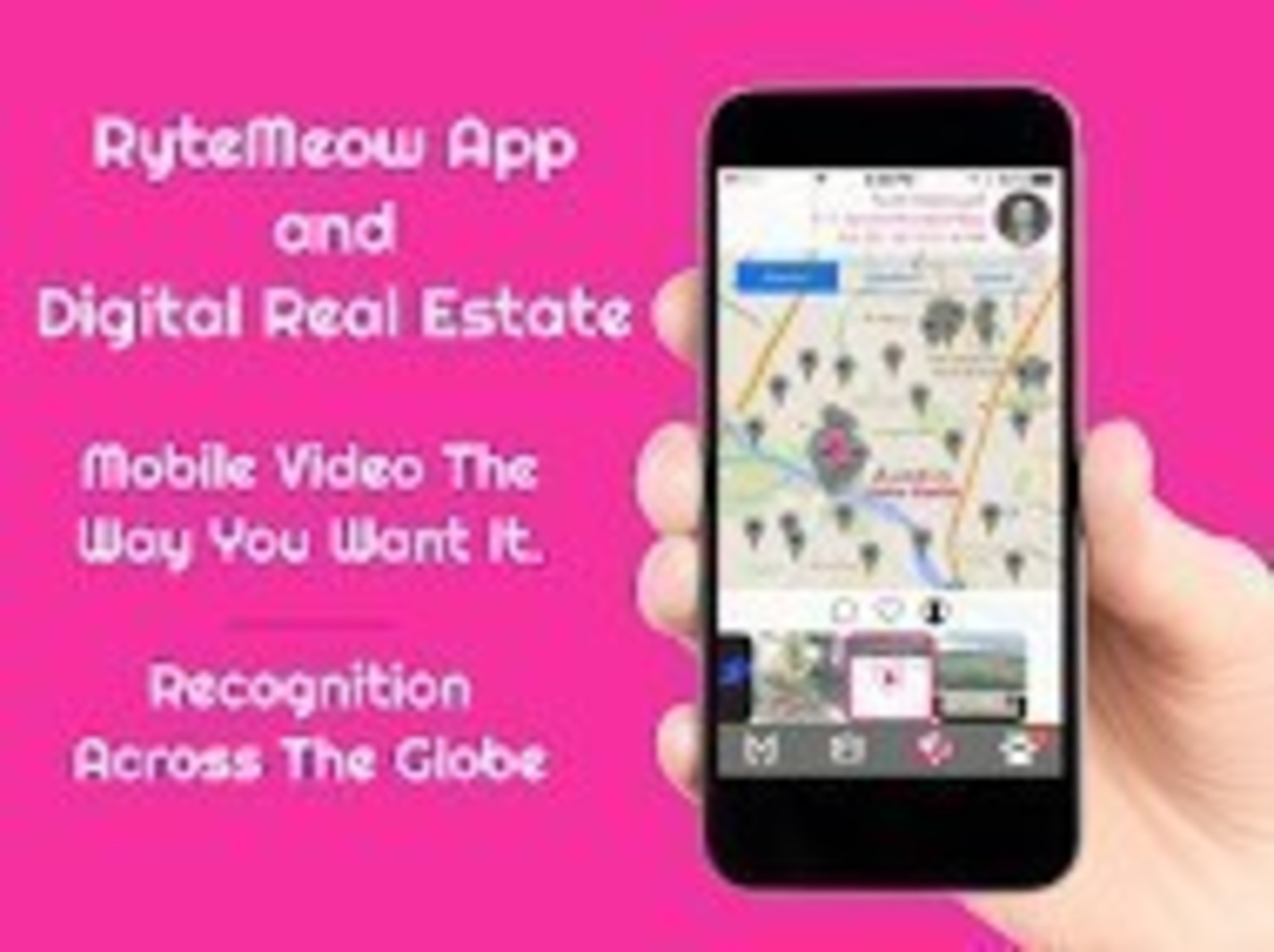 RyteMeow, Inc. Is Offering Digital Real Estate and Celebrity Dinner in Kickstarter Campaign
