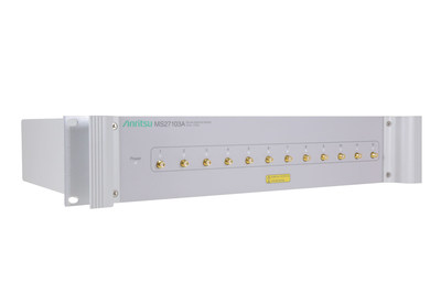 Anritsu Introduces Modular, Scalable Remote Spectrum Monitor Platform that Changes Face of Spectrum Surveillance
