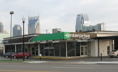 Enterprise Holdings added two new locations in the Nashville area during the last year, and plans to add several more in the near future.