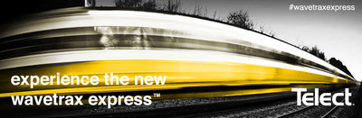 WaveTrax Express is the future of overhead cable management. Say goodbye to specialized tools, cutting trough, and predesigned layouts. Get your network cable management on the fast track. Telect's WaveTrax Express will simplify your network. www.telect.com/wavetraxexpress.  (PRNewsFoto/Telect)