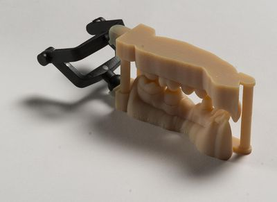 DCD is now printing high precision dental moulds with the Stratasys technology
