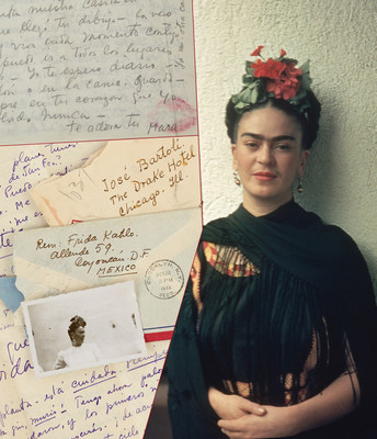 Love Letters Written by Frida Kahlo. Estimate: $80,000-120,000.
