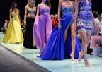 Sherri Hill dresses on the runway.