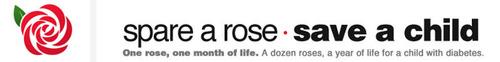 www.SpareARose.org. (PRNewsFoto/Diabetes Hands Foundation) (PRNewsFoto/DIABETES HANDS FOUNDATION)