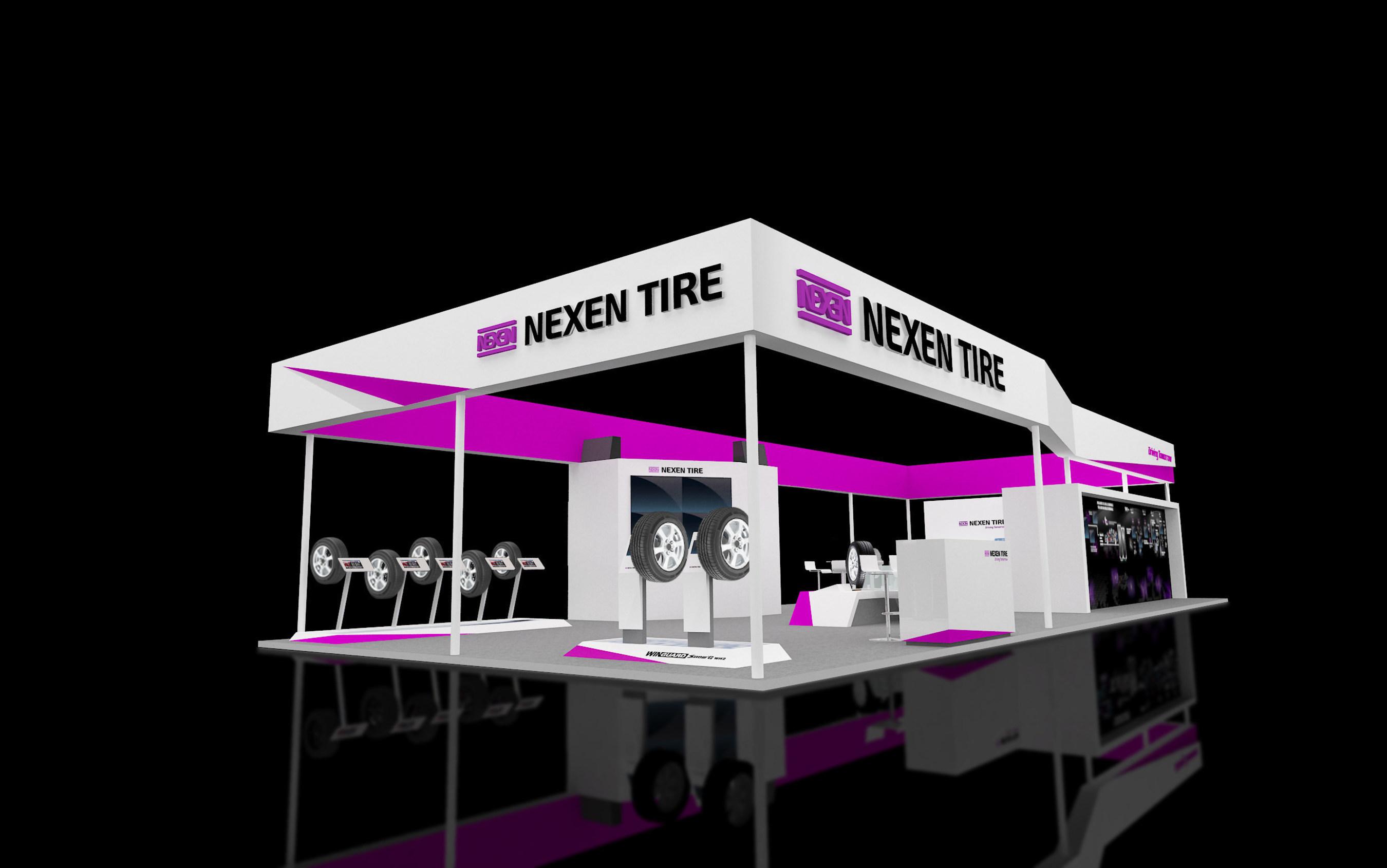 Nexen Tire fait ses débuts à l'Autopromotec 2015, en Italie