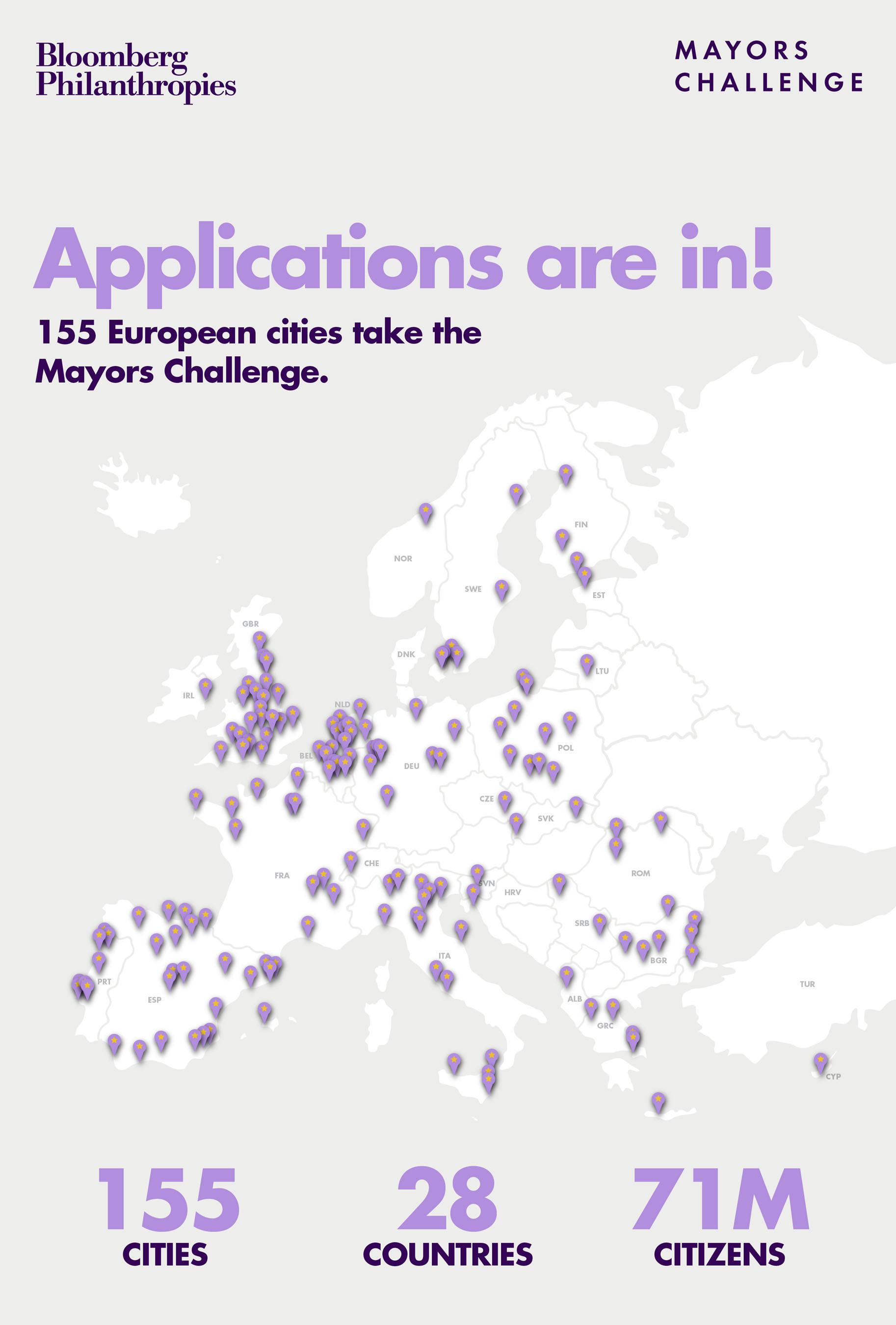For more information: http://bloomberg.org/mayorschallenge. Follow on Twitter: ...